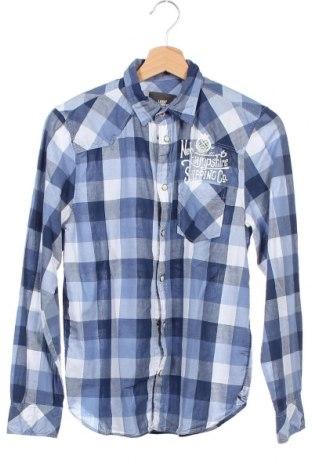 Παιδικό πουκάμισο H&M L.O.G.G., Μέγεθος 12-13y/ 158-164 εκ., Χρώμα Μπλέ, Βαμβάκι, Τιμή 10,52€