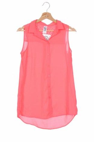 Παιδικό πουκάμισο Here+There, Μέγεθος 15-18y/ 170-176 εκ., Χρώμα Ρόζ , Πολυεστέρας, Τιμή 2,73€