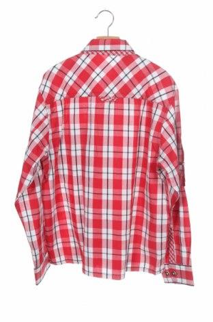 Παιδικό πουκάμισο Lekra, Μέγεθος 13-14y/ 164-168 εκ., Χρώμα Κόκκινο, Βαμβάκι, Τιμή 7,05€