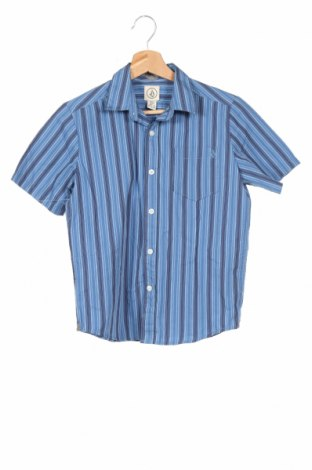 Παιδικό πουκάμισο Volcom, Μέγεθος 10-11y/ 146-152 εκ., Χρώμα Μπλέ, 55% βαμβάκι, 45% πολυεστέρας, Τιμή 7,73€