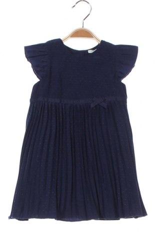 Παιδικό φόρεμα United Colors Of Benetton, Μέγεθος 6-9m/ 68-74 εκ., Χρώμα Μπλέ, 100% πολυεστέρας, Τιμή 20,68€