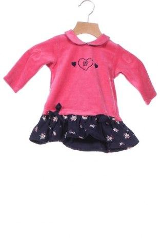Παιδικό φόρεμα iDo By Miniconf, Μέγεθος 2-3m/ 56-62 εκ., Χρώμα Ρόζ , 75% βαμβάκι, 25% πολυεστέρας, Τιμή 8,84€