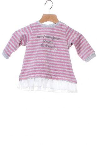 Παιδικό φόρεμα iDo By Miniconf, Μέγεθος 2-3m/ 56-62 εκ., Χρώμα Γκρί, 75% βαμβάκι, 25% πολυεστέρας, Τιμή 9,60€
