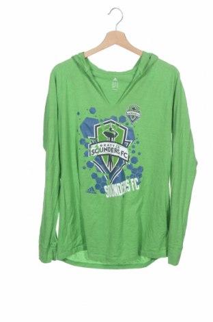 Παιδική μπλούζα αθλητική Adidas, Μέγεθος 12-13y/ 158-164 εκ., Χρώμα Πράσινο, Τιμή 5,91€