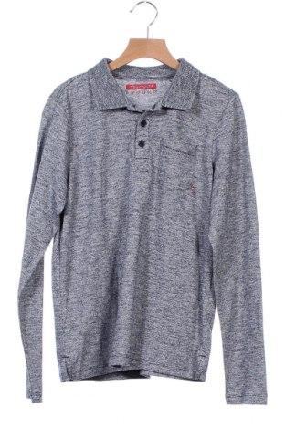 Детска спортна блуза Teddy Smith, Размер 12-13y/ 158-164 см, Цвят Сив, 50% памук, 50% полиестер, Цена 22,00лв.