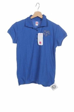 Dětské tričko , Velikost XLy, Barva Modrá, 60% bavlna, 40% polyester, Cena  104,00Kč