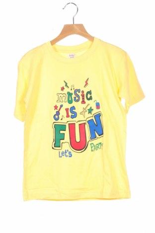 Παιδικό μπλουζάκι, Μέγεθος 12-18m/ 80-86 εκ., Χρώμα Κίτρινο, Τιμή 7,18€