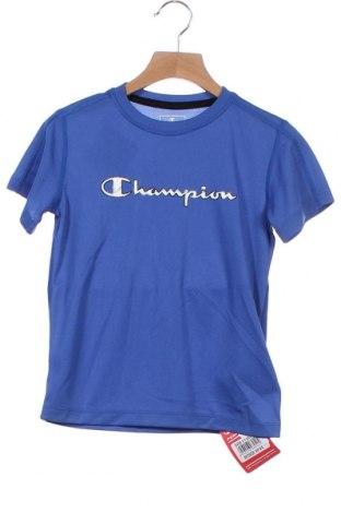Παιδικό μπλουζάκι Champion, Μέγεθος 5-6y/ 116-122 εκ., Χρώμα Μπλέ, Πολυεστέρας, Τιμή 7,09€