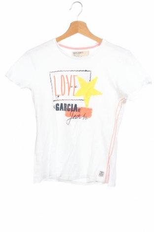 Παιδικό μπλουζάκι Garcia Jeans, Μέγεθος 15-18y/ 170-176 εκ., Χρώμα Λευκό, Βαμβάκι, Τιμή 3,86€