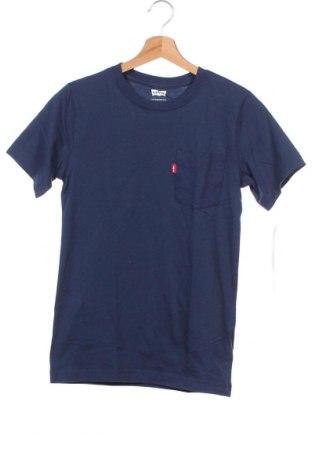 Παιδικό μπλουζάκι Levi's, Μέγεθος 15-18y/ 170-176 εκ., Χρώμα Μπλέ, Βαμβάκι, Τιμή 15,91€