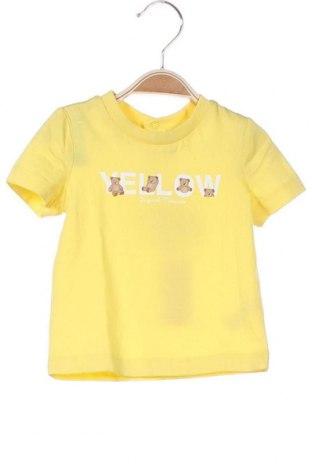 Παιδικό μπλουζάκι Original Marines, Μέγεθος 3-6m/ 62-68 εκ., Χρώμα Κίτρινο, Βαμβάκι, Τιμή 5,76€