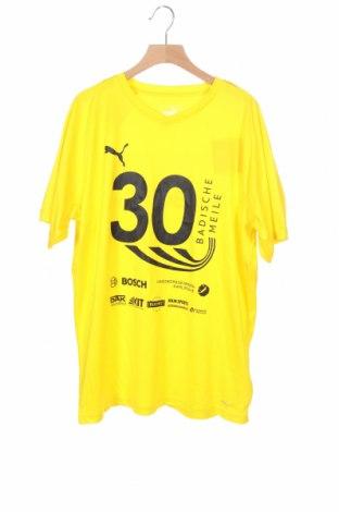 Παιδικό μπλουζάκι PUMA, Μέγεθος 15-18y/ 170-176 εκ., Χρώμα Κίτρινο, Πολυεστέρας, Τιμή 8,64€