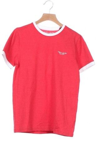 Παιδικό μπλουζάκι Teddy Smith, Μέγεθος 12-13y/ 158-164 εκ., Χρώμα Κόκκινο, 60% βαμβάκι, 40% πολυεστέρας, Τιμή 7,18€