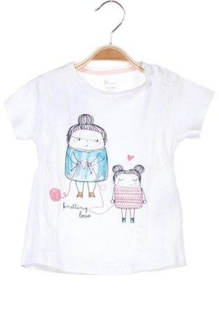 Παιδικό μπλουζάκι ZY kids, Μέγεθος 12-18m/ 80-86 εκ., Χρώμα Λευκό, Βαμβάκι, Τιμή 8,44€