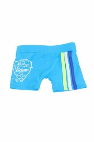 Costum de baie pentru copii Vingino, Mărime 6-9m/ 68-74 cm, Culoare Albastru, 80% poliamidă, 20% elastan, Preț 7,35 Lei