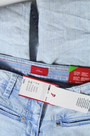 Παιδικά τζίν S.Oliver, Μέγεθος 12-13y/ 158-164 εκ., Χρώμα Μπλέ, 97% βαμβάκι, 3% ελαστάνη, Τιμή 10,67€