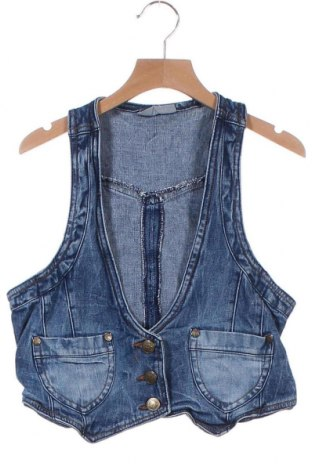 Dětská vesta  Okay, Velikost 13-14y/ 164-168 cm, Barva Modrá, 98% bavlna, 2% elastan, Cena  43,00Kč