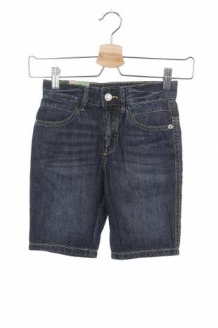 Dětské krátké kalhoty  United Colors Of Benetton, Velikost 4-5y/ 110-116 cm, Barva Modrá, Bavlna, Cena  335,00Kč