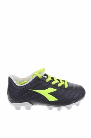 Παιδικά παπούτσια Diadora, Μέγεθος 28, Χρώμα Μπλέ, Δερματίνη, Τιμή 18,35€