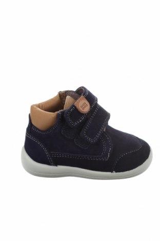 Dětské boty  Gioseppo, Velikost 21, Barva Modrá, Přírodní velur , Cena  452,00Kč