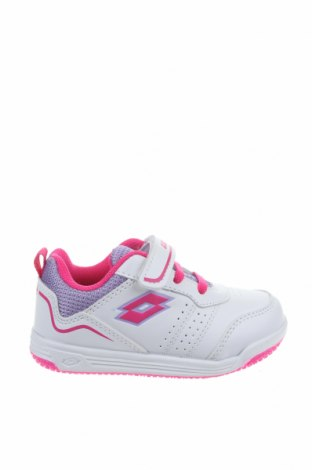 Παιδικά παπούτσια Lotto, Μέγεθος 23, Χρώμα Λευκό, Δερματίνη, Τιμή 34,41€