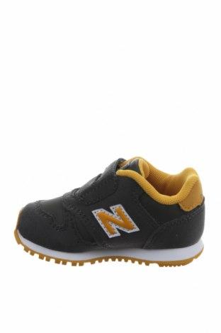 Παιδικά παπούτσια New Balance, Μέγεθος 20, Χρώμα Πράσινο, Δερματίνη, κλωστοϋφαντουργικά προϊόντα, Τιμή 34,41€