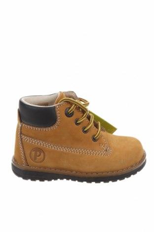Παιδικά παπούτσια Primigi, Μέγεθος 23, Χρώμα Κίτρινο, Φυσικό σουέτ, δερματίνη, Τιμή 15,14€