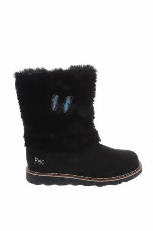 Παιδικά παπούτσια Primigi, Μέγεθος 30, Χρώμα Μαύρο, Φυσικό σουέτ, κλωστοϋφαντουργικά προϊόντα, Τιμή 27,05€