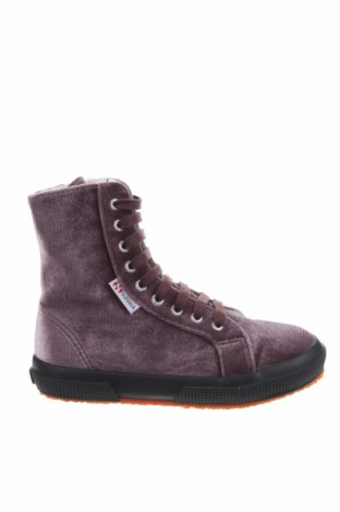 Детски обувки Superga, Размер 30, Цвят Лилав, Текстил, Цена 55,47лв.