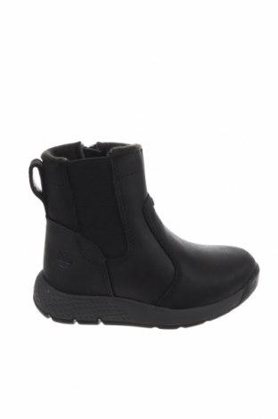Παιδικά παπούτσια Timberland, Μέγεθος 22, Χρώμα Μαύρο, Γνήσιο δέρμα, Τιμή 30,77€