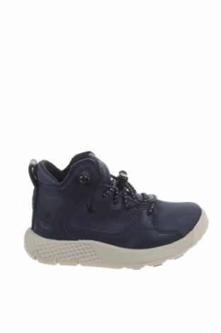 Παιδικά παπούτσια Timberland, Μέγεθος 21, Χρώμα Μπλέ, Γνήσιο δέρμα, Τιμή 24,59€