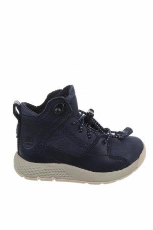 Παιδικά παπούτσια Timberland, Μέγεθος 22, Χρώμα Μπλέ, Γνήσιο δέρμα, Τιμή 24,59€