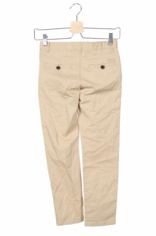Παιδικό παντελόνι Massimo Dutti, Μέγεθος 7-8y/ 128-134 εκ., Χρώμα  Μπέζ, 97% βαμβάκι, 3% ελαστάνη, Τιμή 13,52€