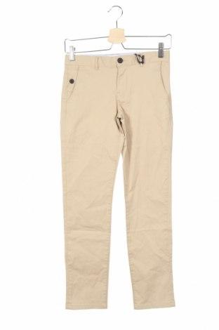 Παιδικό παντελόνι Massimo Dutti, Μέγεθος 9-10y/ 140-146 εκ., Χρώμα  Μπέζ, 97% βαμβάκι, 3% ελαστάνη, Τιμή 13,52€