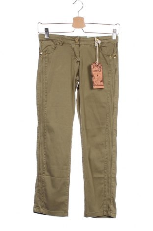 Παιδικό παντελόνι Million X, Μέγεθος 9-10y/ 140-146 εκ., Χρώμα Πράσινο, 98% βαμβάκι, 2% ελαστάνη, Τιμή 11,74€