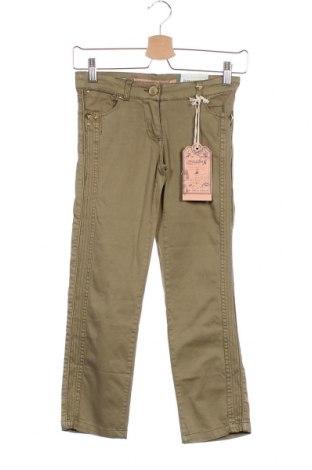 Παιδικό παντελόνι Million X, Μέγεθος 7-8y/ 128-134 εκ., Χρώμα Πράσινο, 98% βαμβάκι, 2% ελαστάνη, Τιμή 11,74€