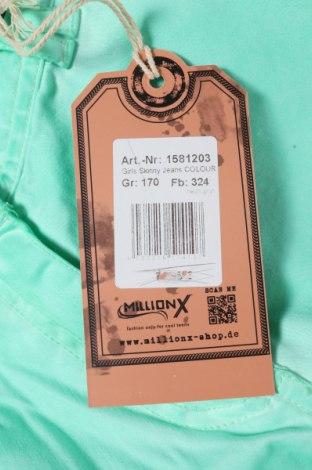Παιδικό παντελόνι Million X, Μέγεθος 15-18y/ 170-176 εκ., Χρώμα Πράσινο, 98% βαμβάκι, 2% ελαστάνη, Τιμή 10,64€
