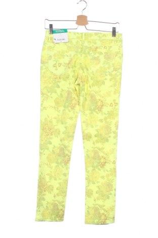 Παιδικό παντελόνι Million X, Μέγεθος 12-13y/ 158-164 εκ., Χρώμα Κίτρινο, 98% βαμβάκι, 2% ελαστάνη, Τιμή 10,64€