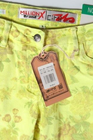 Παιδικό παντελόνι Million X, Μέγεθος 12-13y/ 158-164 εκ., Χρώμα Κίτρινο, 98% βαμβάκι, 2% ελαστάνη, Τιμή 8,51€
