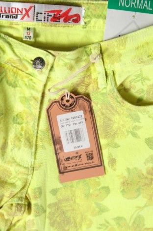 Παιδικό παντελόνι Million X, Μέγεθος 15-18y/ 170-176 εκ., Χρώμα Κίτρινο, 98% βαμβάκι, 2% ελαστάνη, Τιμή 8,51€