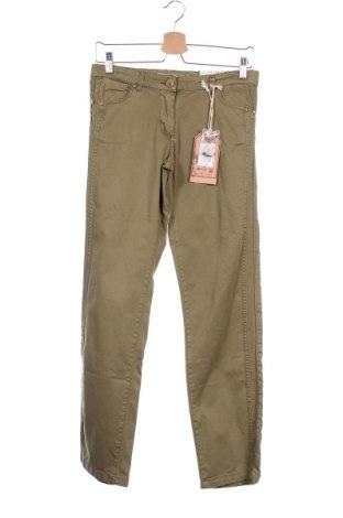 Παιδικό παντελόνι Million X, Μέγεθος 13-14y/ 164-168 εκ., Χρώμα Πράσινο, 98% βαμβάκι, 2% ελαστάνη, Τιμή 1,59€