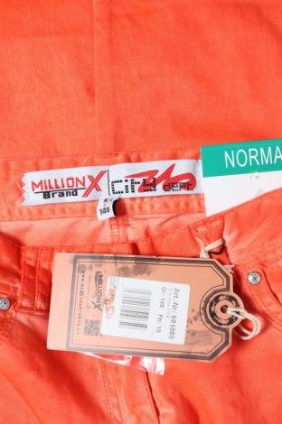 Παιδικό παντελόνι Million X, Μέγεθος 10-11y/ 146-152 εκ., Χρώμα Πορτοκαλί, 98% βαμβάκι, 2% ελαστάνη, Τιμή 10,04€