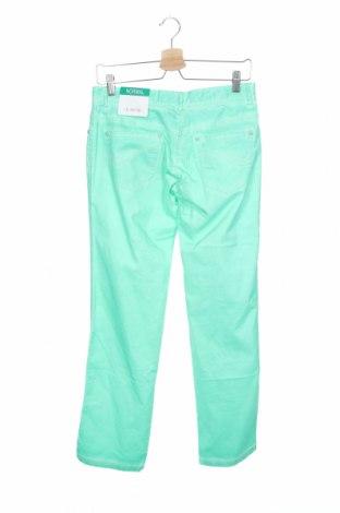 Παιδικό παντελόνι Million X, Μέγεθος 15-18y/ 170-176 εκ., Χρώμα Πράσινο, 98% βαμβάκι, 2% ελαστάνη, Τιμή 9,12€