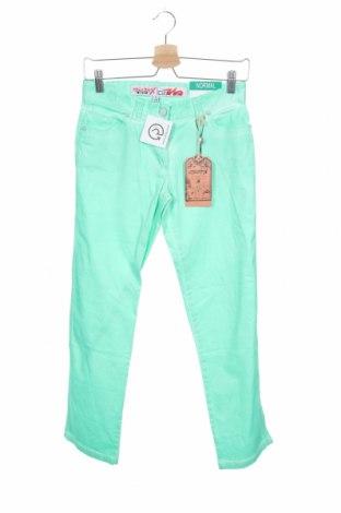 Παιδικό παντελόνι Million X, Μέγεθος 12-13y/ 158-164 εκ., Χρώμα Πράσινο, 98% βαμβάκι, 2% ελαστάνη, Τιμή 10,64€