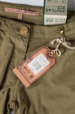 Παιδικό παντελόνι Million X, Μέγεθος 13-14y/ 164-168 εκ., Χρώμα Πράσινο, 98% βαμβάκι, 2% ελαστάνη, Τιμή 11,74€