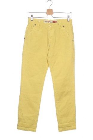Детски панталон Million X, Размер 10-11y/ 146-152 см, Цвят Жълт, Цена 20,65лв.