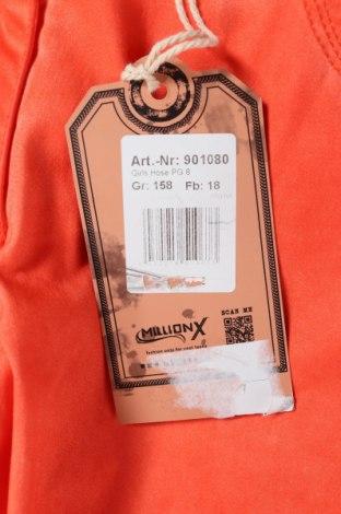 Παιδικό παντελόνι Million X, Μέγεθος 12-13y/ 158-164 εκ., Χρώμα Πορτοκαλί, 98% βαμβάκι, 2% ελαστάνη, Τιμή 5,05€