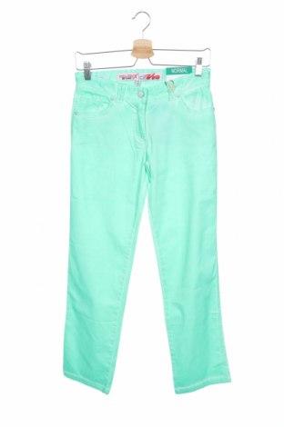 Παιδικό παντελόνι Million X, Μέγεθος 13-14y/ 164-168 εκ., Χρώμα Πράσινο, 98% βαμβάκι, 2% ελαστάνη, Τιμή 10,64€