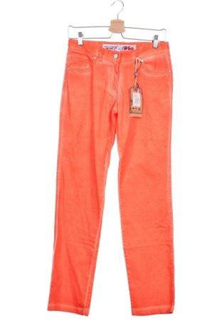 Παιδικό παντελόνι Million X, Μέγεθος 15-18y/ 170-176 εκ., Χρώμα Πορτοκαλί, 98% βαμβάκι, 2% ελαστάνη, Τιμή 1,03€