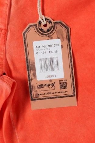 Παιδικό παντελόνι Million X, Μέγεθος 8-9y/ 134-140 εκ., Χρώμα Πορτοκαλί, 98% βαμβάκι, 2% ελαστάνη, Τιμή 10,04€